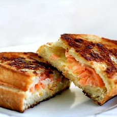 Smoked Salmon and Gruyere Grilled Cheese Sandwich