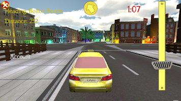 Screenshot of 3D Taxi