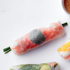 Shrimp-and-Mint Summer Rolls