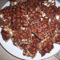 Chocolate Mallow Nut Bars