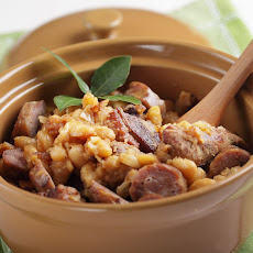 Pork Loin And Sausage Cassoulet