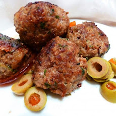 Spanish Meatballs With Green Olives