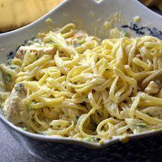 Creamy Chicken Linguine