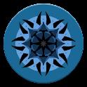 Blue Grunge icon