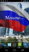 Screenshot of 3D Russia Flag Live Wallpaper+
