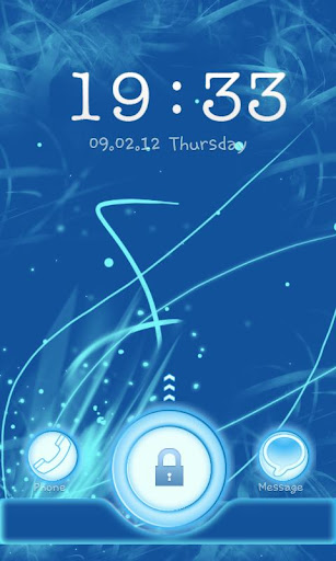 Go Locker Blue Chill Theme