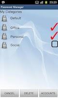 Screenshot of Password Manager