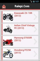 Screenshot of Motorcycle News & Pictures