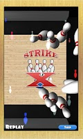 Screenshot of Bowling 3D