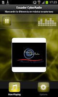 Screenshot of Ecuador CyberRadio
