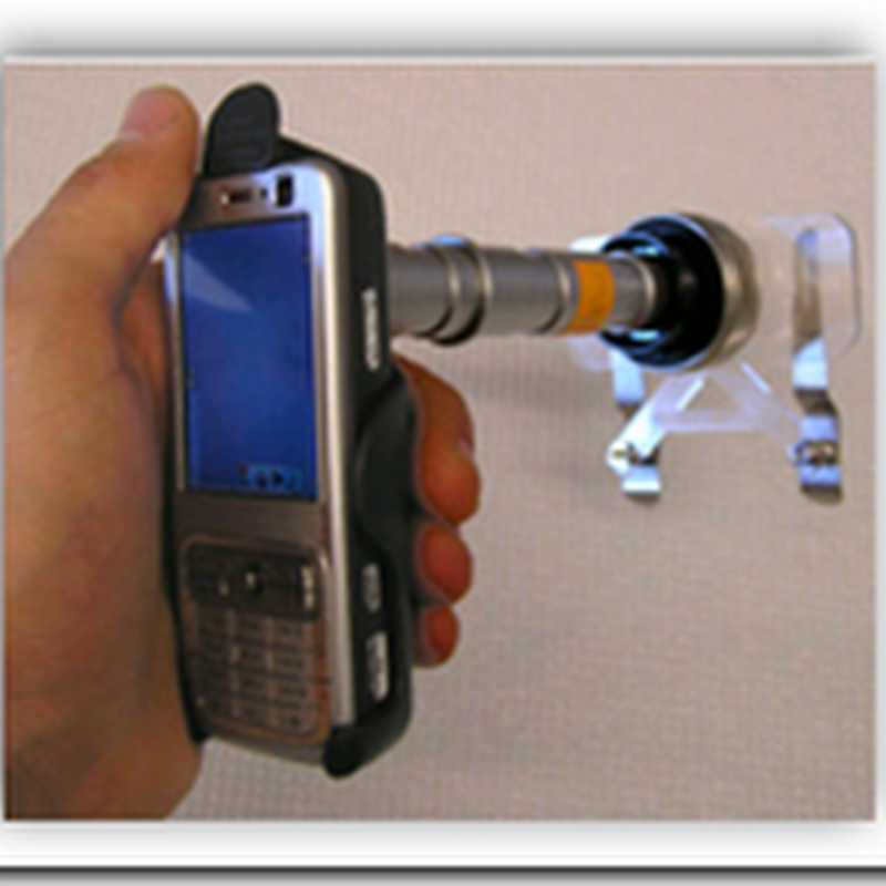 Remote Microscopy - Cell Phone Microscope Attachment
