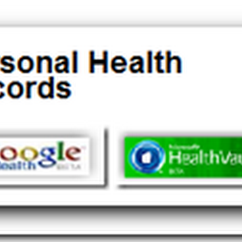 Personal Health Records - Like having a Healthcare Escrow Account
