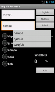 Learn English Javanese - screenshot