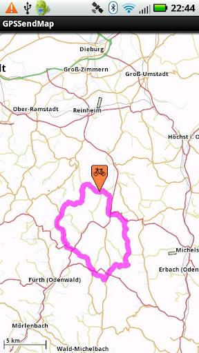 GPSSendMap