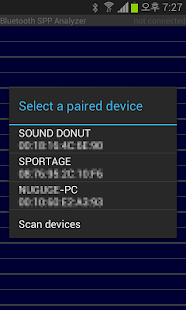 Bluetooth SPP Analyzer - screenshot