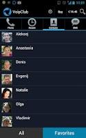 Screenshot of VoIPclub cheap VoIP/SIP calls