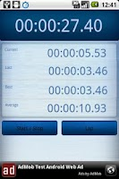 Screenshot of Time! Lap Timer