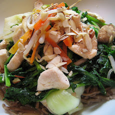 Easy Chicken-almond Stir-fry