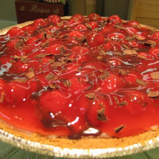 Hershey's Chocolate Cherry Cheese Pie