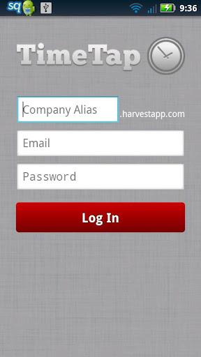 TimeTap NFC for Harvest