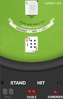 Screenshot of BlackJack Trainer Pro
