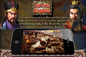Screenshot of Tap Three Kingdoms