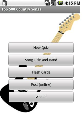 Top 500 Country Music Quiz