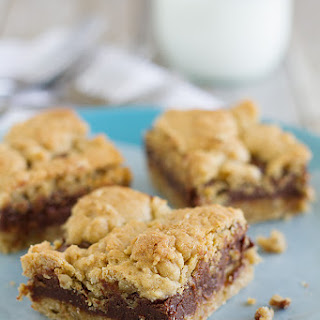 Oatmeal Fudge Bars