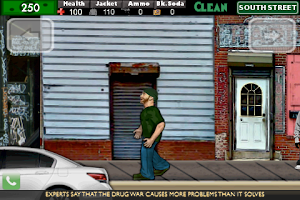 Screenshot of Dope War Free 2D