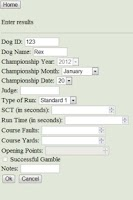 Screenshot of AAC Championship Tracker