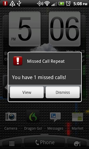 Missed Call Repeat