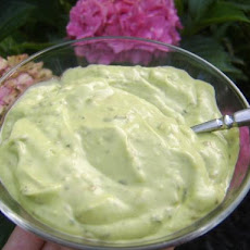 Avocado Basil Salad Dressing