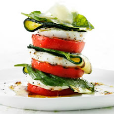 Roasted Tomato and Zucchini Salad