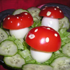 Toadstool Salad (For Kids!)