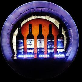 Choices, Choices  by Holly Lent - Food & Drink Alcohol & Drinks ( creativity, lighting, art, artistic, purple, mood factory, lights, color, fun )