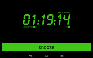 Screenshot of Alarm Clock Radio FREE