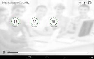 Screenshot of Learn Dentistry