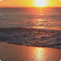 Sunset Beach Live Wallpaper HD icon