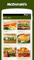 Screenshot of McDonald's Sverige
