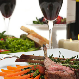 Lamb Chops for 2 with Wine Reduction Sauce