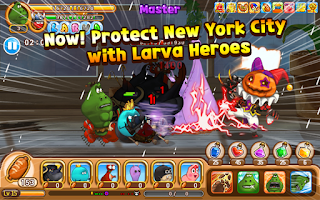 Screenshot of Larva Heroes: Lavengers 2014