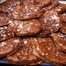 Whole-Wheat Oatmeal Pancakes (Gourmet Magazine)