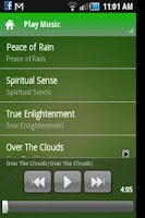 Screenshot of Meditation Elements