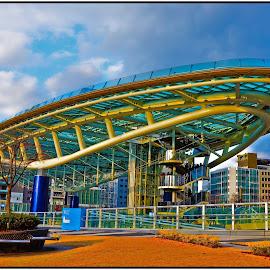 Oasis 23, Nagoya Japan by Vicka Vie - City,  Street & Park  Amusement Parks