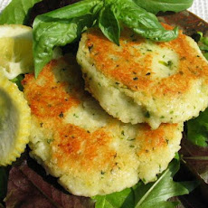 Halloumi and Couscous Cakes