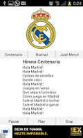 Screenshot of Real Madrid Himno