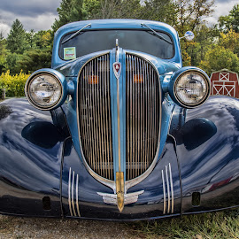 by Becky Kempf - Transportation Automobiles ( car, headlights, automobile )