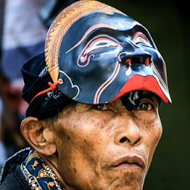 dua wajah by Om Prasetya - People Portraits of Men ( art, artistic, mask, people, man )