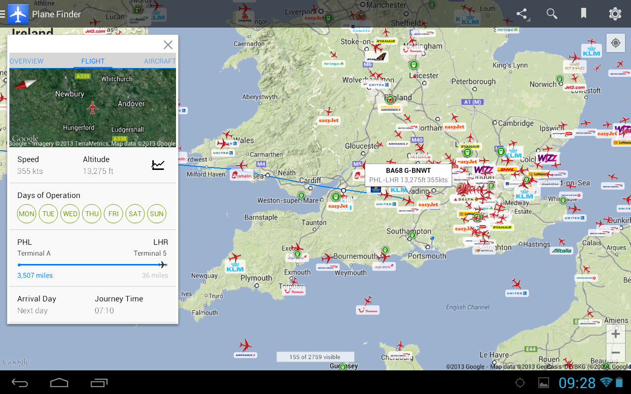 Plane Finder - Flight Tracker Screenshot 10