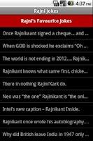 Screenshot of Rajni Jokes